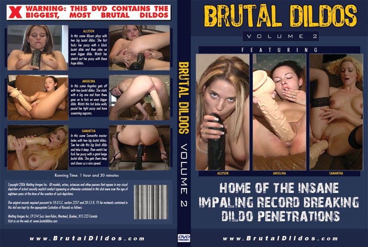 Excited brutal dildo dvd that